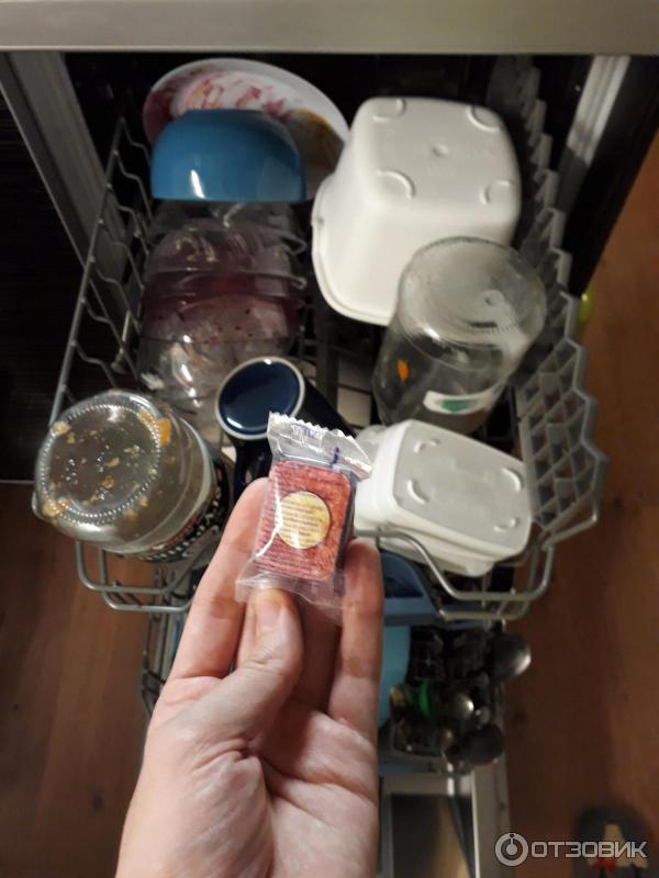 Белый налет на посудомоечной машине: почему остается