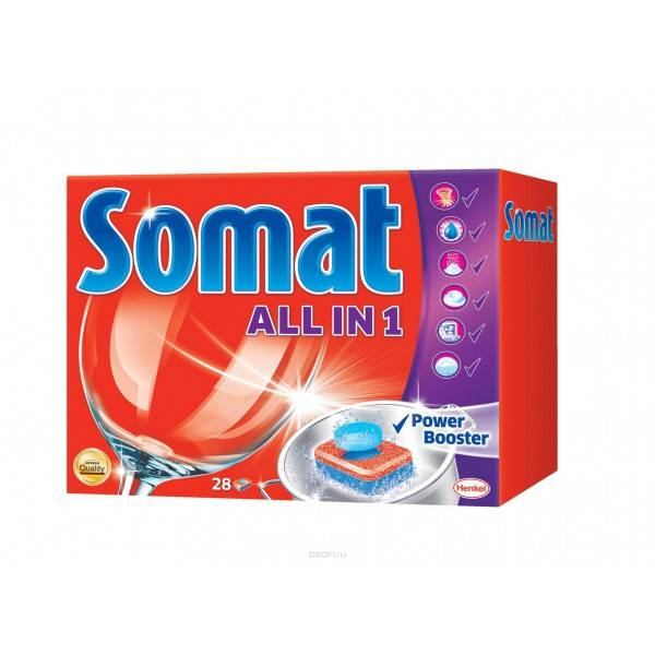 Somat для посудомоечных машин — отзывы покупателей