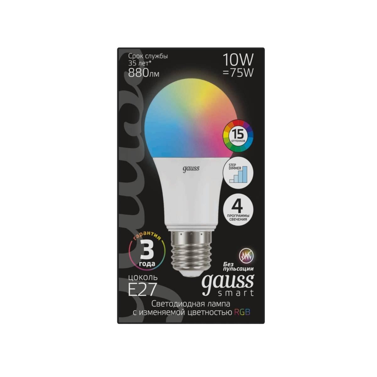Светодиодные лампы gauss: специфика устройства и советы по выбору - точка j