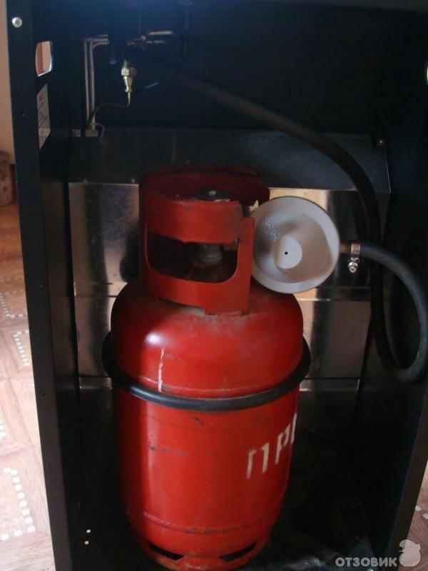Газовый обогреватель для дачи с баллоном