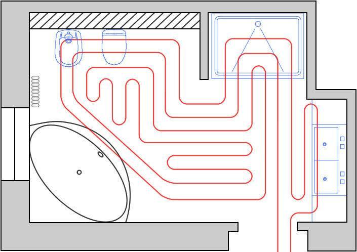 Как правильно сделать теплый пол - варианты и детальная инструкция!