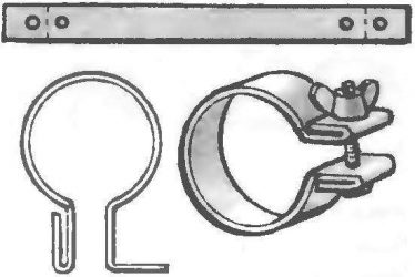 Хомут для крепления труб: подбор и использование