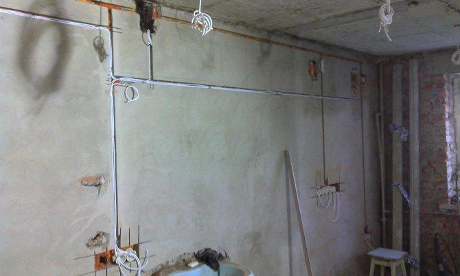 Замена электропроводки в квартире: видео урок о том, как поменять проводку в квартире панельного дома своими руками