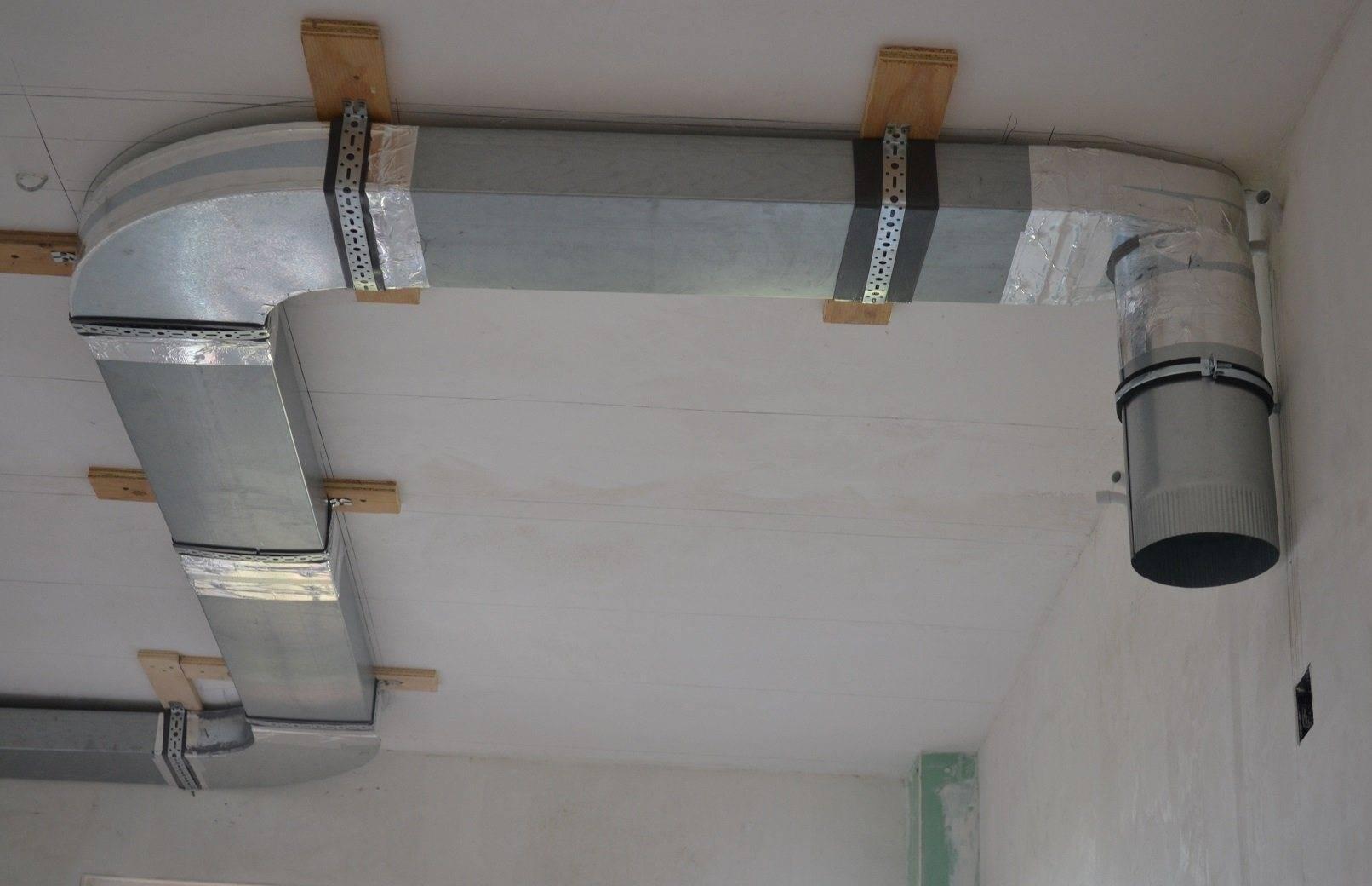 Вентиляция в натяжном потолке и вентиляционные решетки