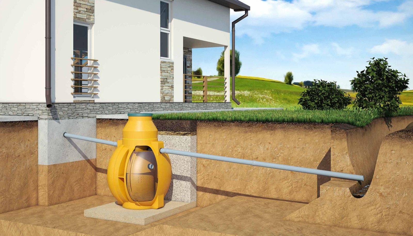 Локальная канализация: что это такое, местная канализация и локальная система очистки сточных вод