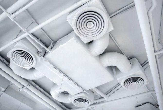 Вентиляция на кухне — варианты устройства и схемы установки