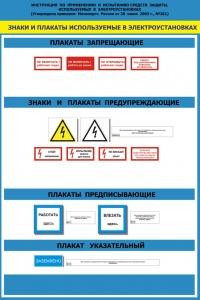Плакаты по электробезопасности: запрещающие, указывающие, предписывающие и предупреждающие, виды знаков, их размеры и фото
