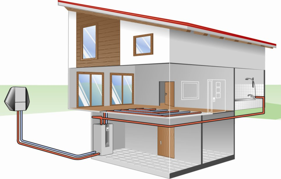 """Тепловой насос """"воздух-воздух"""" — опыт эксплуатации для отопления загородного дома"""