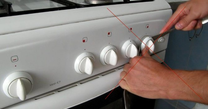 Как снять ручки с газовой плиты: как устроена ручка и что делать, когда она не снимается