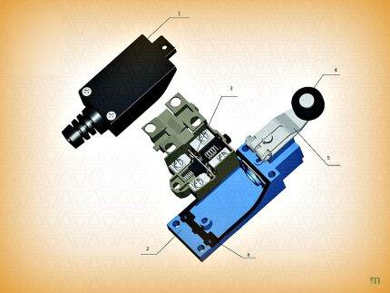 Для чего нужны концевые выключатели и каких видов они бывают? - электрика