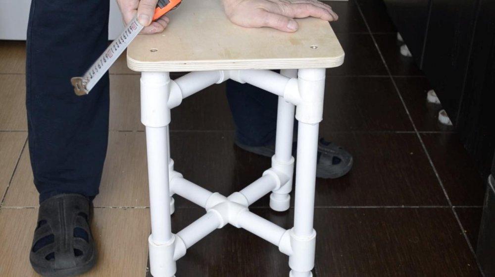 Мебель из полипропиленовых труб своими руками