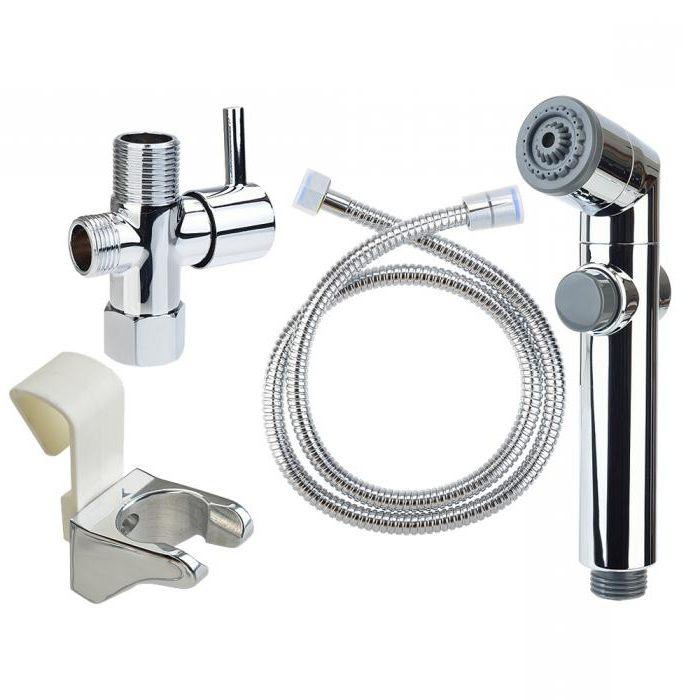 Гигиенический душ со смесителем: рейтинг популярных моделей+ рекомендации по монтажу
