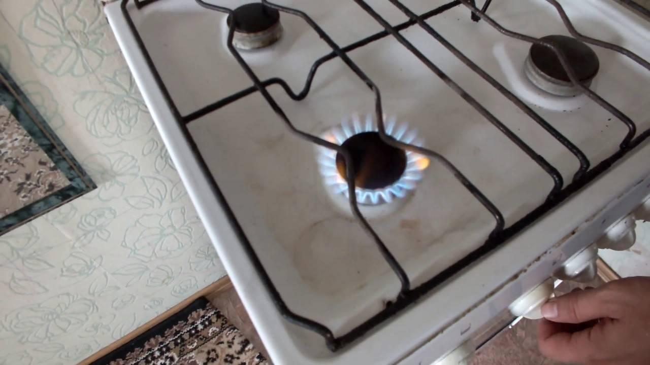 Газовая плита коптит — почему и что делать