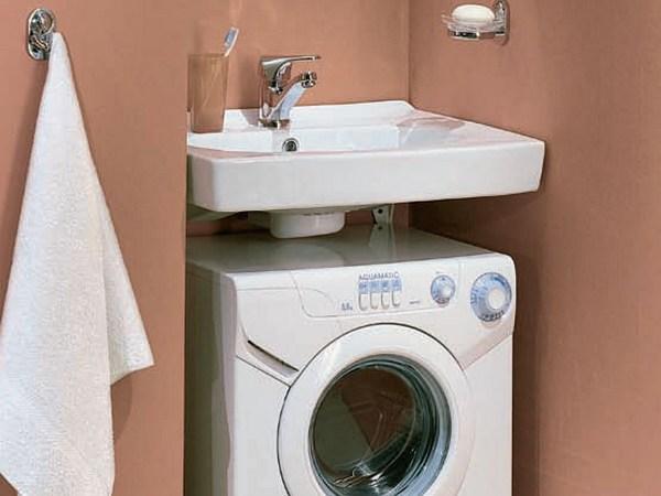 Раковина над стиральной машиной: особенности установки и монтажа