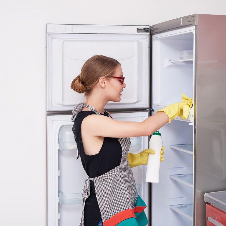 Как убрать запах из холодильника- народные и магазинные средства