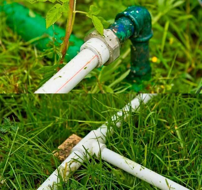 Как выбрать пластиковые трубы для полива на даче?