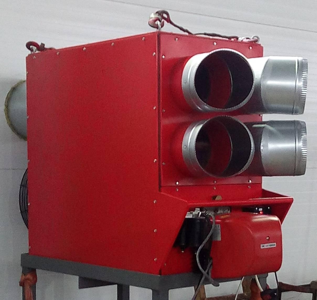 Газовые воздушные теплогенераторы в москве