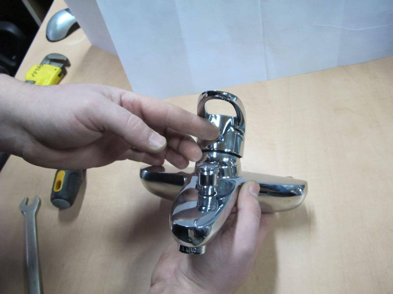 Устройство и ремонт однорычажного смесителя своими руками