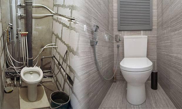 Короб из гипсокартона в туалете (51 фото): как сделать съемный шкаф для труб своими руками, как правильно закрыть, инструкции по изготовлению и монтажу