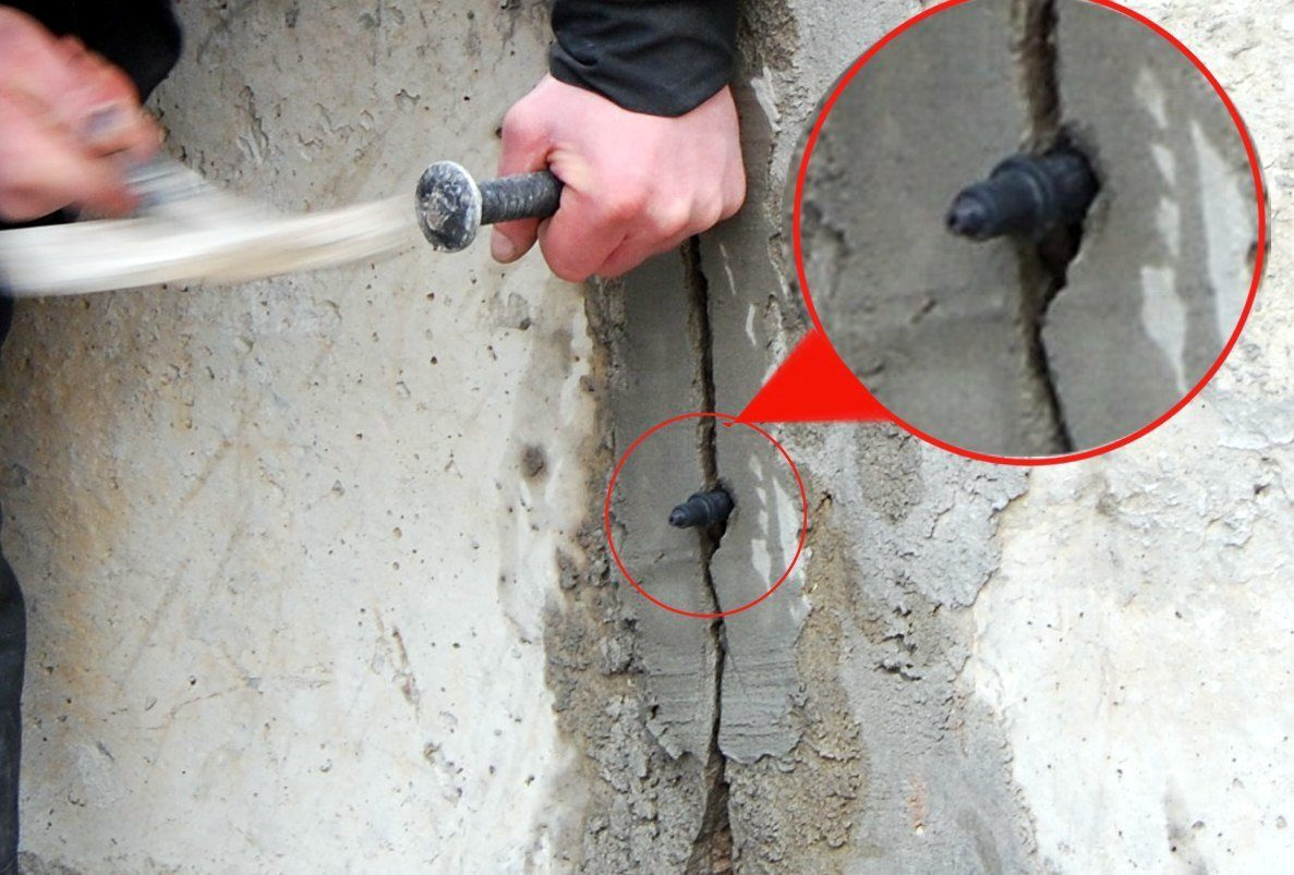 Инъектирование трещин бетона кальматрон — заказать в уфе