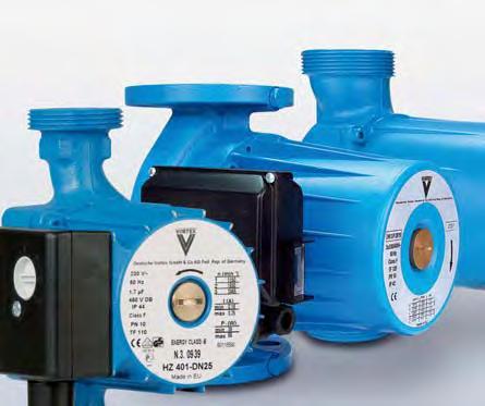 Какие насосы можно использовать для подачи горячей воды