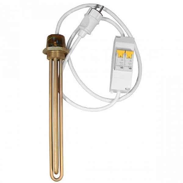 Водяной тэн с терморегулятором - лучшее отопление