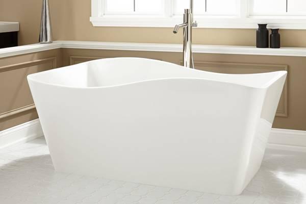 Достоинства ванн из акрила по сравнению с чугунной
