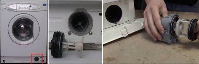 Как слить воду со стиральной машины?