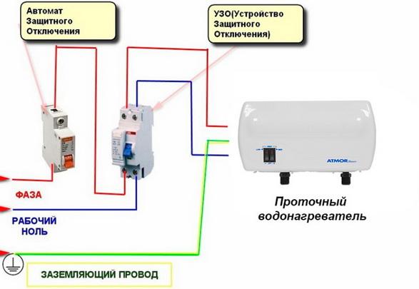 Как правильно подключить устройство защитного отключения (узо)?
