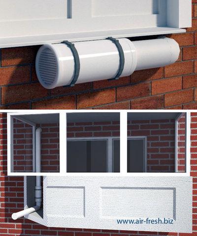 Утепление балкона с вентилируемым фасадом из композита, вытяжка и вентиляция на балконе