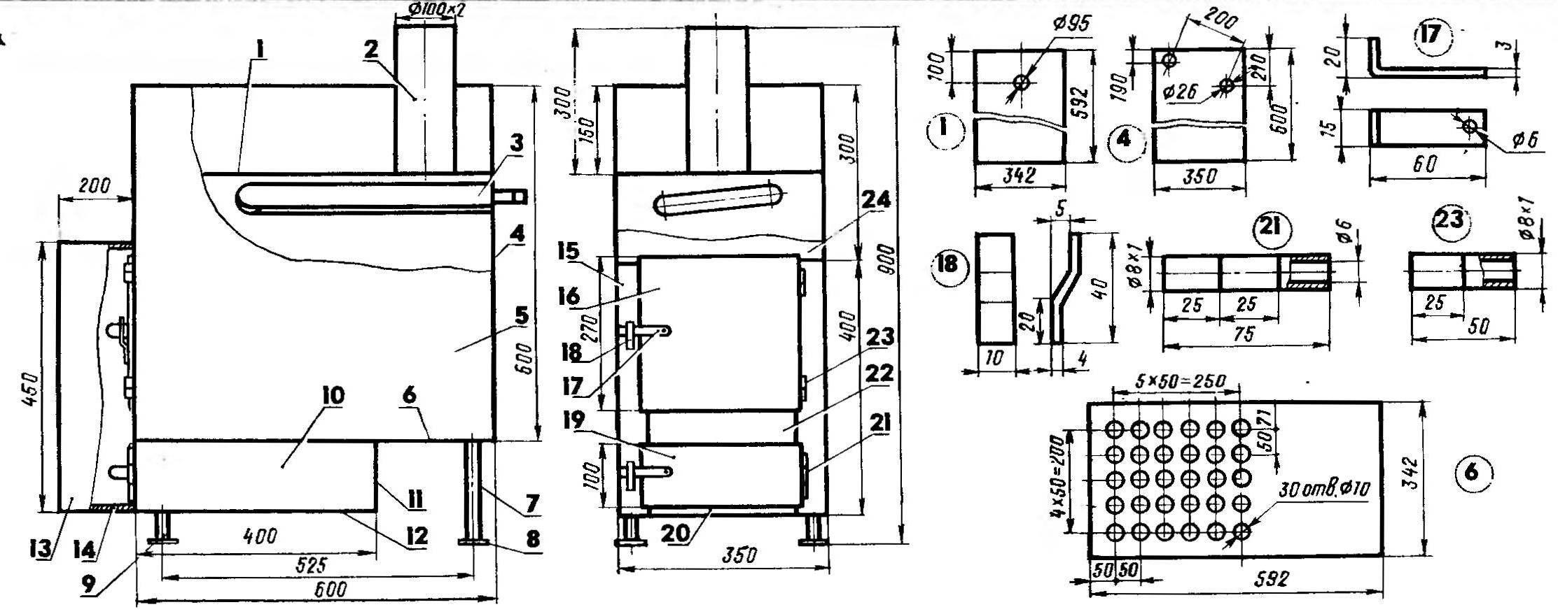 Что такое буржуйка логинова (печь-генератор «сам»)?