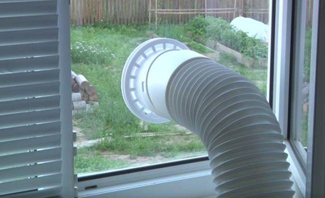 Как установить кондиционер в окно
