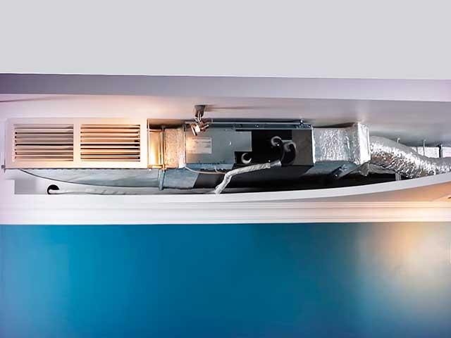 Канальный кондиционер с притоком свежего воздуха