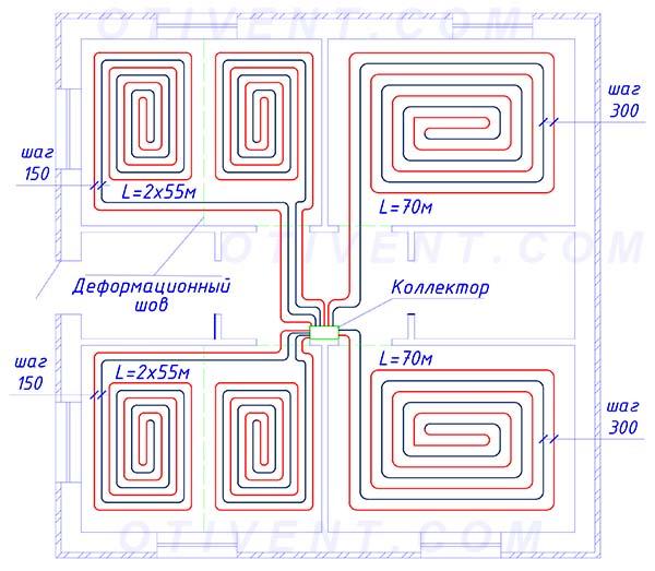 Как самостоятельно рассчитать водяные и электрические теплые полы
