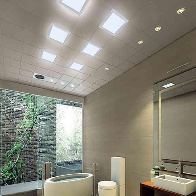Потолочные светильники для ванной комнаты, как сделать подсветку потолка, фото и видео примеры