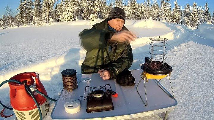 Как не замерзнуть ночью в палатке: обогрев палатки