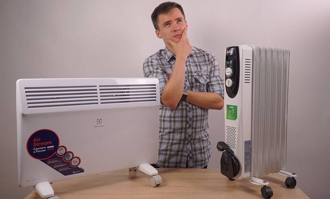 Что лучше, конвектор или тепловентилятор - сравнение