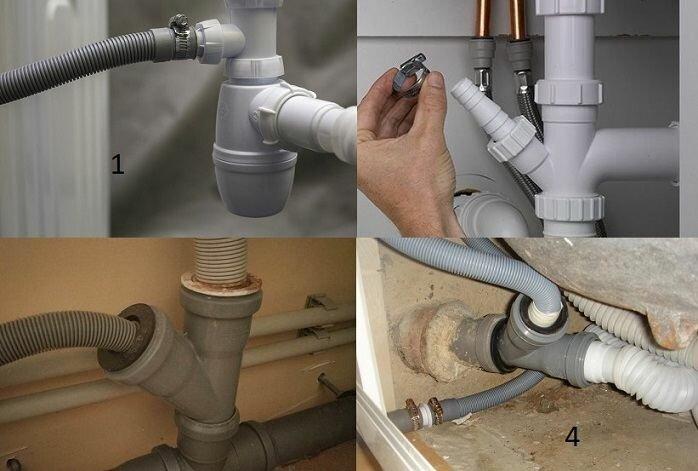 Правильный метода подключения душевой кабины к канализации, водопроводу, а так же основные характеристики монтажа.