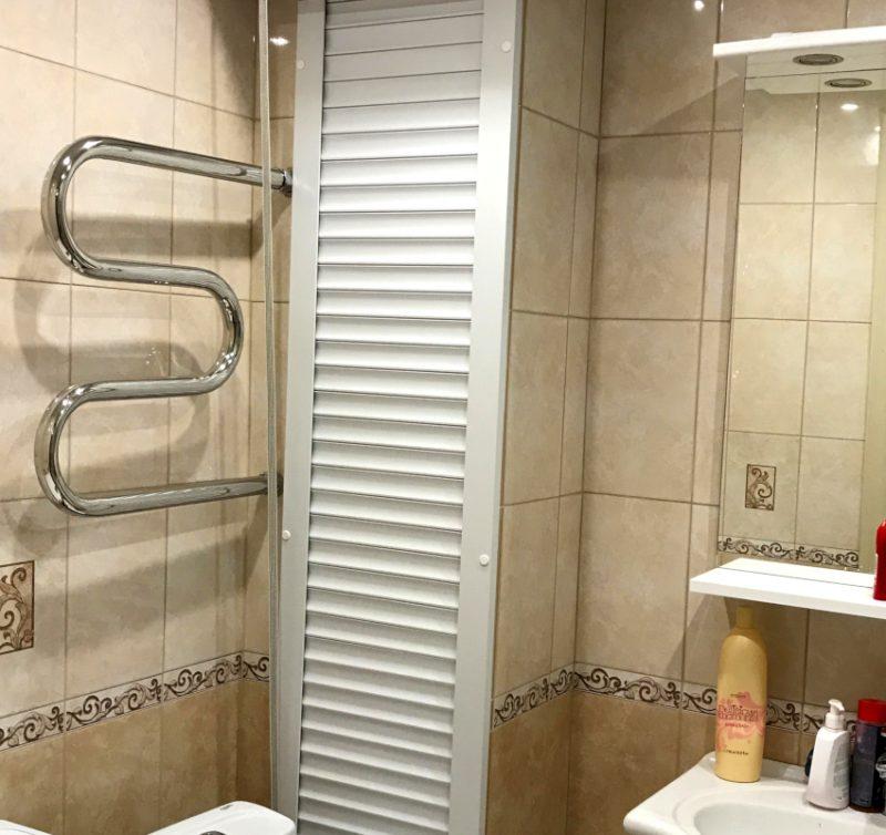 Жалюзи в туалет чтобы спрятать трубу цены, экран для туалета