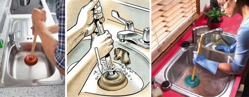 Как прочистить засор в ванной - 7 лучших способов