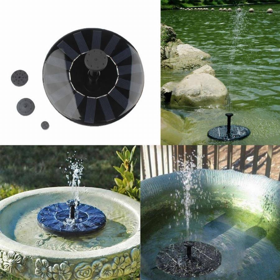 Насос для фонтана на дачу: разновидности и какой лучше выбрать, правила установки
