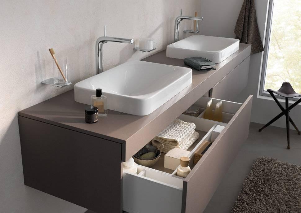 Выбираем сантехнику и мебель для маленькой ванной
