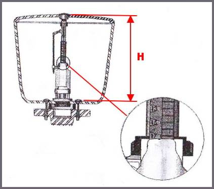 Клапан для унитаза: виды клапанов и особенности их монтажа. установка и настройка впускного клапана