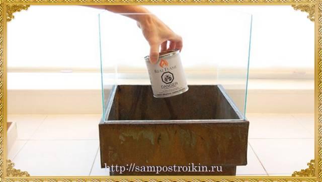Как сделать биокамин своими руками
