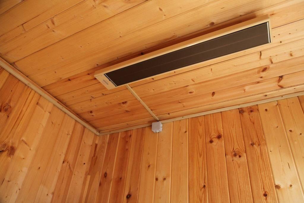 Инфракрасные обогреватели для дачи – керамические, потолочные модели и устройства с терморегулятором