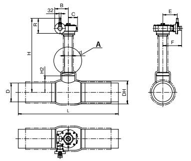 Кран шаровый муфтовый: устройство, характеристики, монтаж