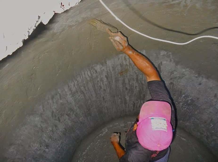 Гидроизоляция колодца из бетонных колец своими руками: инструкция