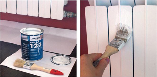 Как правильно выбрать краску и покрасить батареи отопления