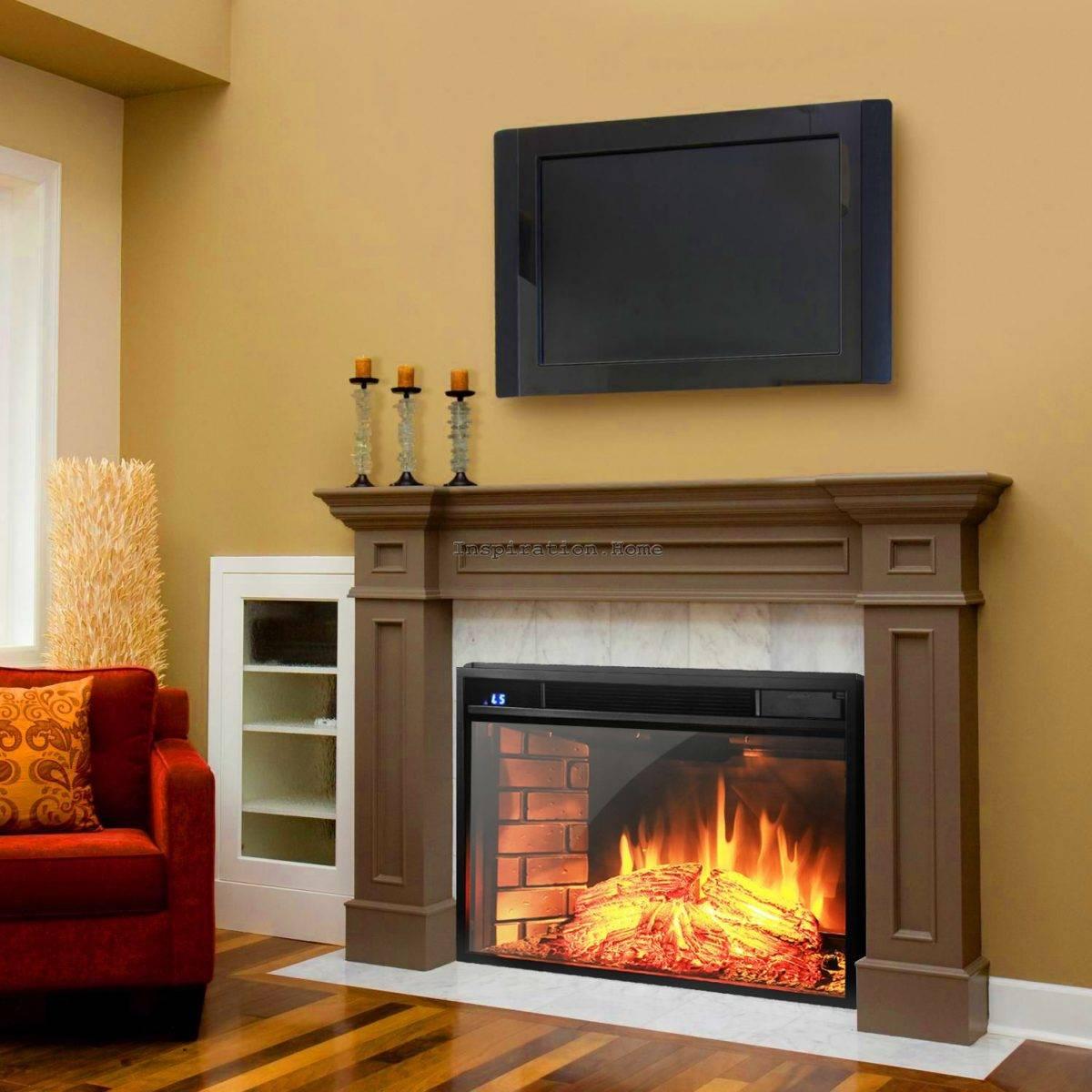 Как выбрать электрокамин для квартиры и дома + видео