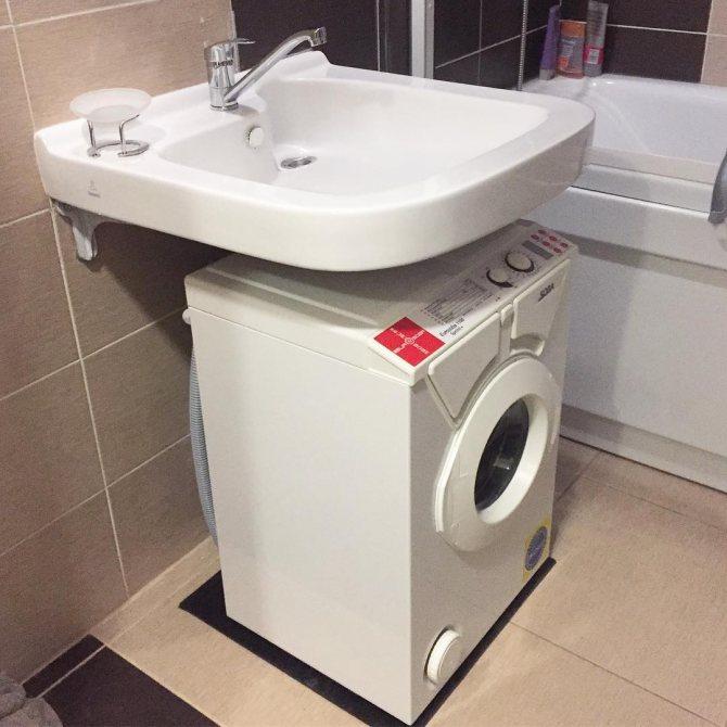 Раковина над стиральной машиной 60 фото виды, как выбрать